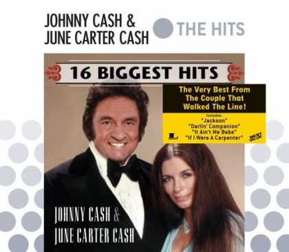 Bestselling Music (2006) - 16 Biggest Hits by Johnny Cash & June Carter Cash