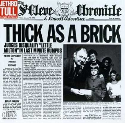 Bestselling Music (2006) - Thick As A Brick by Jethro Tull
