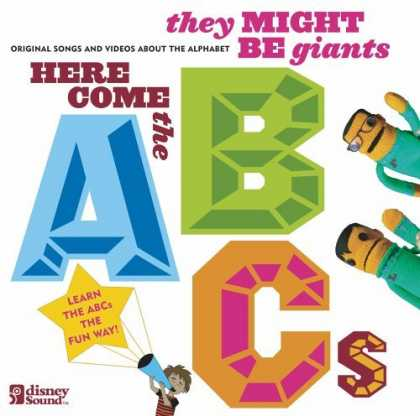 Bestselling Music (2006) - Here Come the ABCs [CD/DVD Combo] by They Might Be Giants