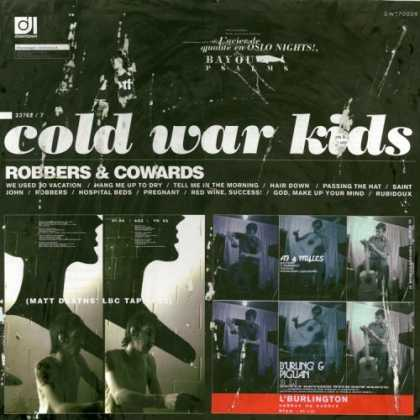Bestselling Music (2007) - Robbers & Cowards by Cold War Kids