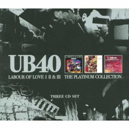 Bestselling Music (2007) - Labour of Love I II & III: The Platinum Collection by UB40