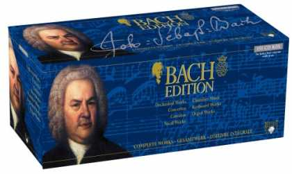 Bestselling Music (2007) - Bach: Complete Works - 155 CD Box Set
