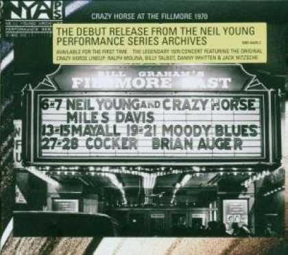 Bestselling Music (2007) - Live at the Fillmore East by Neil Young and Crazy Horse