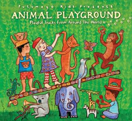 Bestselling Music (2007) - Putumayo Kids Presents: Animal Playground by Various Artists