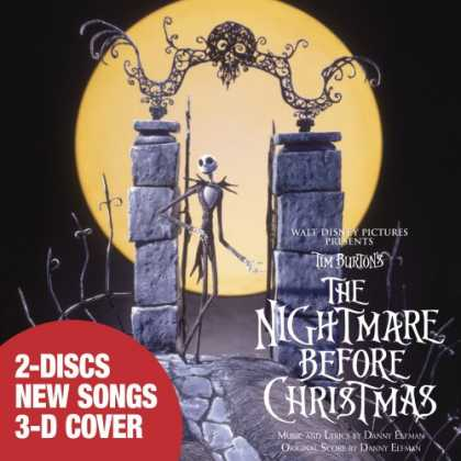 Bestselling Music (2007) - Tim Burton's The Nightmare Before Christmas by Danny Elfman