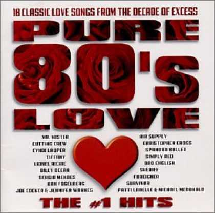 Bestselling Music (2007) - Pure 80's Love: The #1 Hits by Various Artists