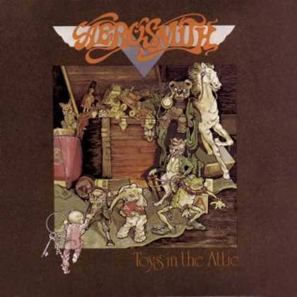 Bestselling Music (2007) - Toys in the Attic by Aerosmith