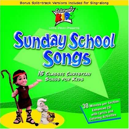 Bestselling Music (2007) - Sunday School Songs by Cedarmont Kids