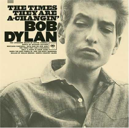 Bestselling Music (2007) - The Times They Are A-Changin' by Bob Dylan