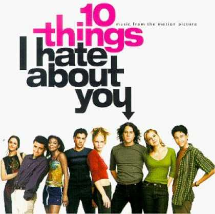 Bestselling Music (2007) - 10 Things I Hate About You: Music From The Motion Picture by Various Artists