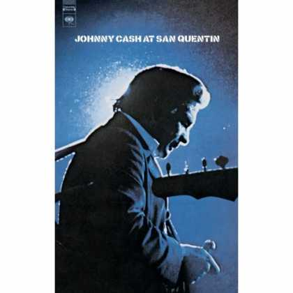 Bestselling Music (2007) - At San Quentin by Johnny Cash