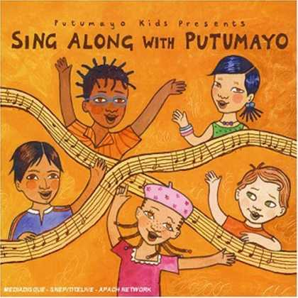 Bestselling Music (2007) - Putumayo Kids Presents: Sing Along With Putumayo by Various Artists