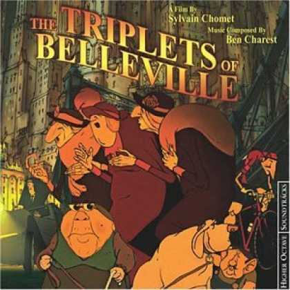 Bestselling Music (2007) - The Triplets of Belleville by Ben Charest