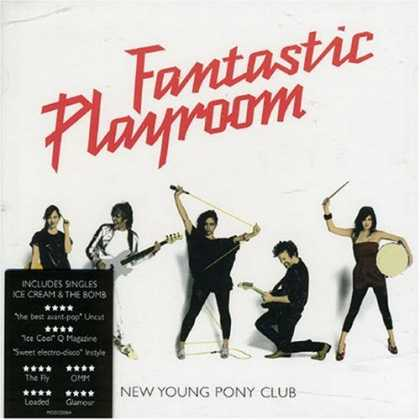 Bestselling Music (2007) - Fantastic Playroom by New Young Pony Club
