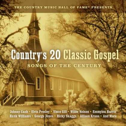 Bestselling Music (2007) - Country's 20 Classic Gospel: Songs of the Century by Various Artists