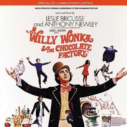 Bestselling Music (2007) - Willy Wonka & The Chocolate Factory: Music From The Original Soundtrack Of The P