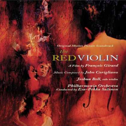 Bestselling Music (2007) - The Red Violin: Original Motion Picture Soundtrack by Esa-Pekka Salonen