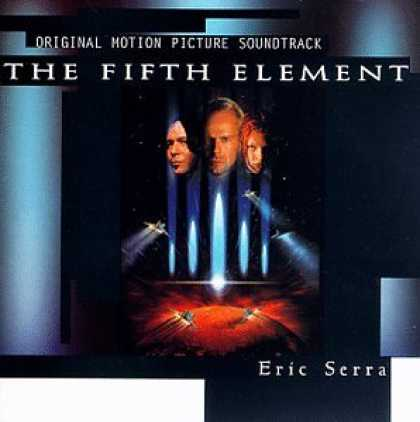 Bestselling Music (2007) - The Fifth Element: Original Motion Picture Soundtrack by Eric Serra