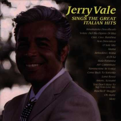 Bestselling Music (2007) - Jerry Vale Sings the Great Italian Hits by Jerry Vale