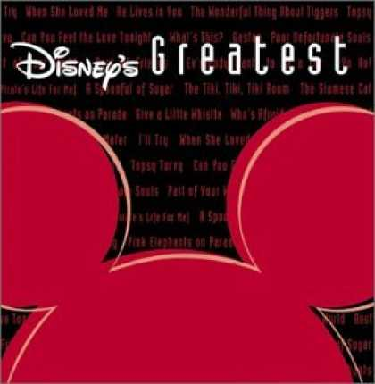 Bestselling Music (2007) - Disney's Greatest 3 by Various Artists