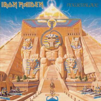 Bestselling Music (2007) - Powerslave by Iron Maiden