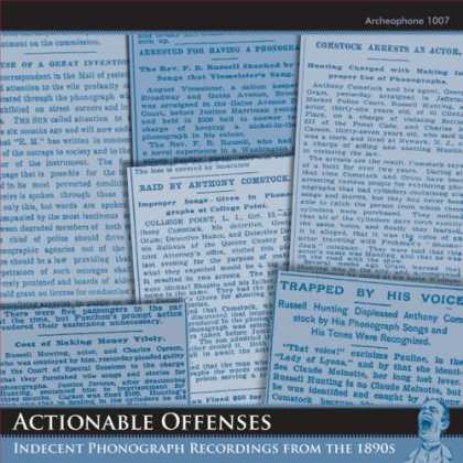 Bestselling Music (2007) - Actionable Offenses: Indecent Phonograph Recordings from the 1890s