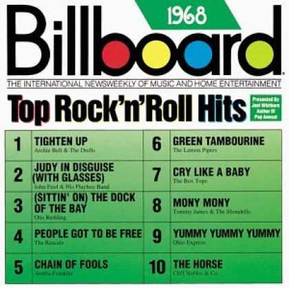 Bestselling Music (2007) - Billboard Top Rock & Roll Hits: 1968 by Various Artists