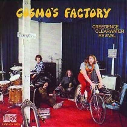Bestselling Music (2007) - Cosmo's Factory by Creedence Clearwater Revival