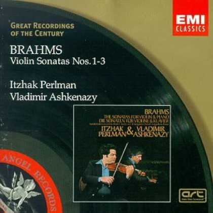 Bestselling Music (2007) - Great Recordings Of The Century - Brahms: Violin Sonatas nos 1 - 3 / Perlman, As