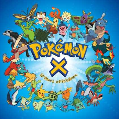 Bestselling Music (2007) - Pokemon X: Ten Years of Pokemon by Original Soundtrack