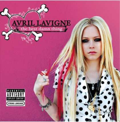 Bestselling Music (2007) - The Best Damn Thing (CD/DVD Deluxe Limited Edition) by Avril Lavigne