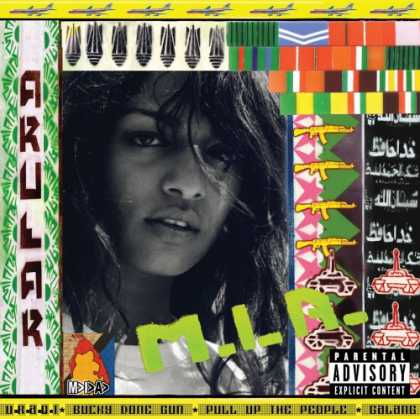 Bestselling Music (2007) - Arular by M.I.A.