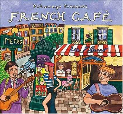 Bestselling Music (2007) - French Cafe by Various Artists