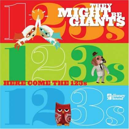 Bestselling Music (2008) - Here Come The 123s [CD/DVD] by They Might Be Giants