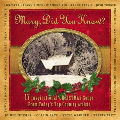 Bestselling Music (2008) - Mary Did You Know?: 17 Inspirational Christmas Songs From Today's Top Country Ar