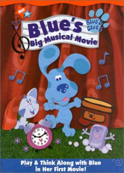 Bestselling Music (2008) - Blue's Clues - Blue's Big Musical Movie