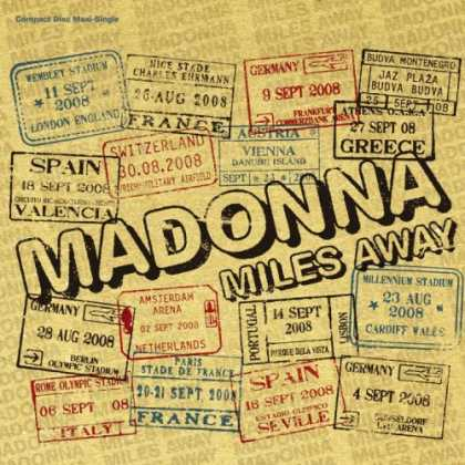 Bestselling Music (2008) - Miles Away (Remix Ep) by Madonna