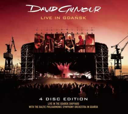Bestselling Music (2008) - Live In Gdansk (2 CD/2 DVD) by David Gilmour