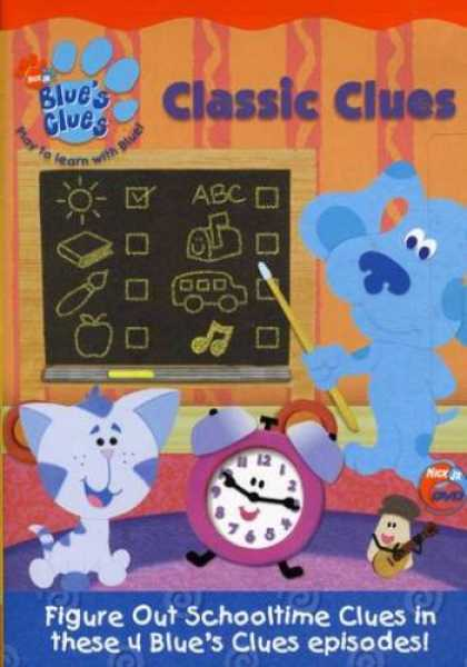 Bestselling Music (2008) - Blue's Clues - Classic Clues