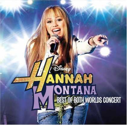 Bestselling Music (2008) - The Best of Both Worlds Concert (CD + DVD) by Hannah Montana