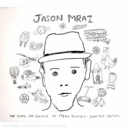 Bestselling Music (2008) - We Sing, We Dance. We Steal Things Expanded Edition 2CD/ DVD by Jason Mraz