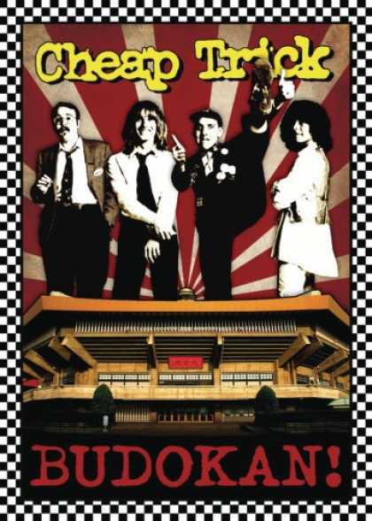 Bestselling Music (2008) - BUDOKAN!(30th Anniversary DVD+3CDs) by Cheap Trick
