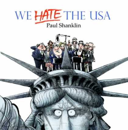 Bestselling Music (2008) - We Hate the USA by Paul Shanklin