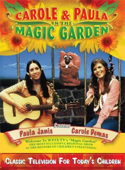 Bestselling Music (2008) - Carole and Paula in the Magic Garden (2 DVD plus 1 CD)