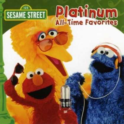 Bestselling Music (2008) - Platinum All Time Favorites by Sesame Street