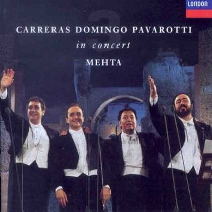 Bestselling Music (2008) - Carreras · Domingo · Pavarotti: The Three Tenors in Concert / Mehta