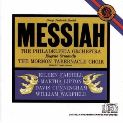 Bestselling Music (2008) - Handel - Messiah - Mormon Tabernacle by George Frideric Handel