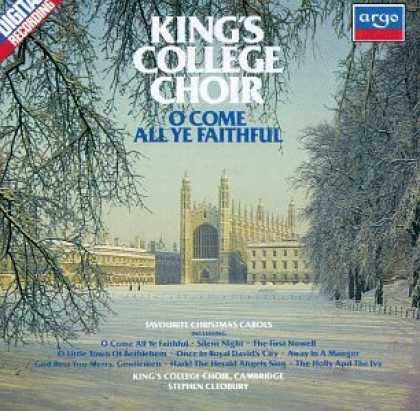 Bestselling Music (2008) - O Come All Ye Faithful: Christmas Carols at King's College, Cambridge by King's