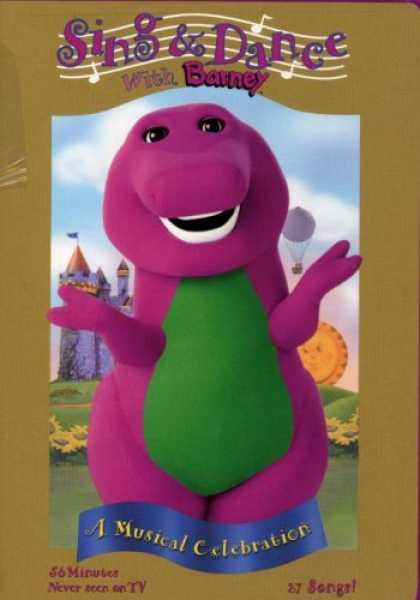 Bestselling Music (2008) - Barney - Sing and Dance with Barney