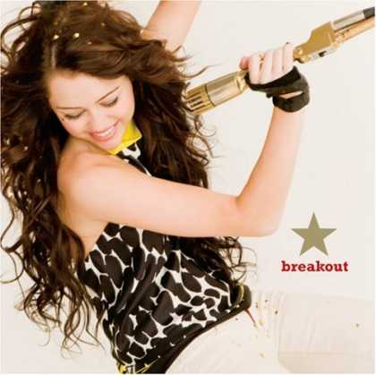 Bestselling Music (2008) - Breakout by Miley Cyrus